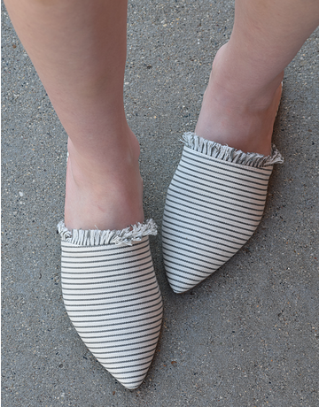 Stripped Mules