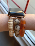 OMI Apple Watch Band - Wooden Rust
