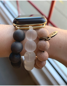 OMI Apple Watch Band - Clear Wood