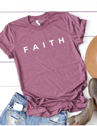 Faith Block Letters Graphic Tee