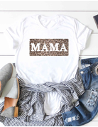 Leopard Mama Graphic Tee