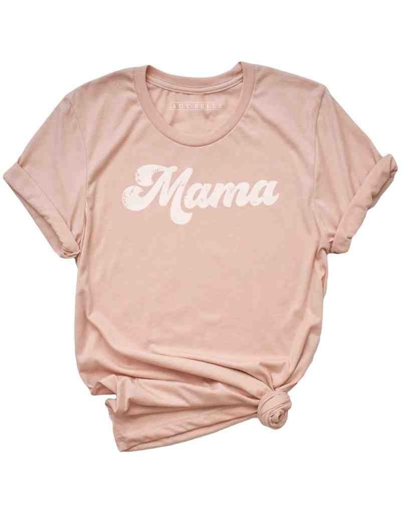 Mama Retro Graphic Tee