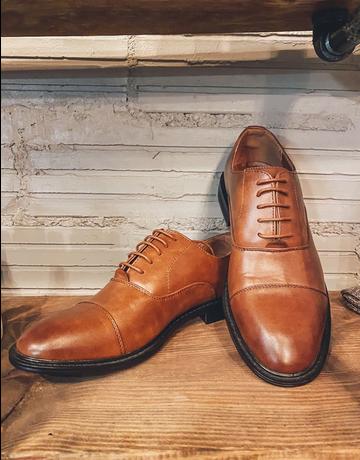 Brown Men's Dress Shoe