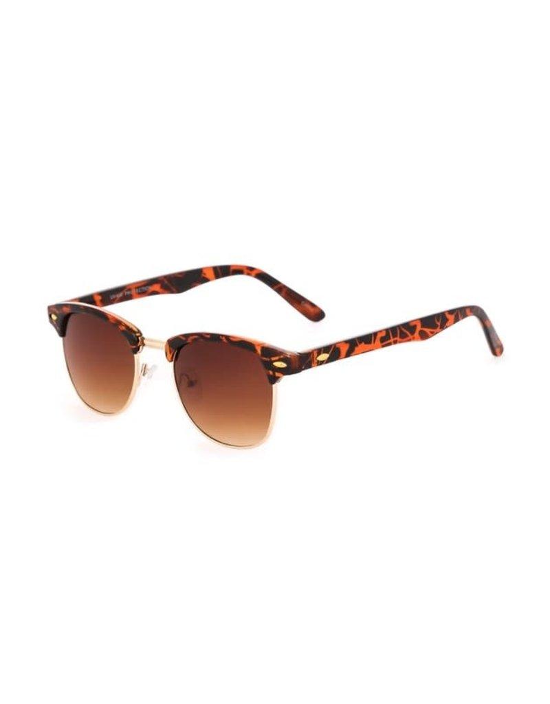 Acetate Browline Sunglasses
