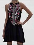 Halter Neck Mini Dress