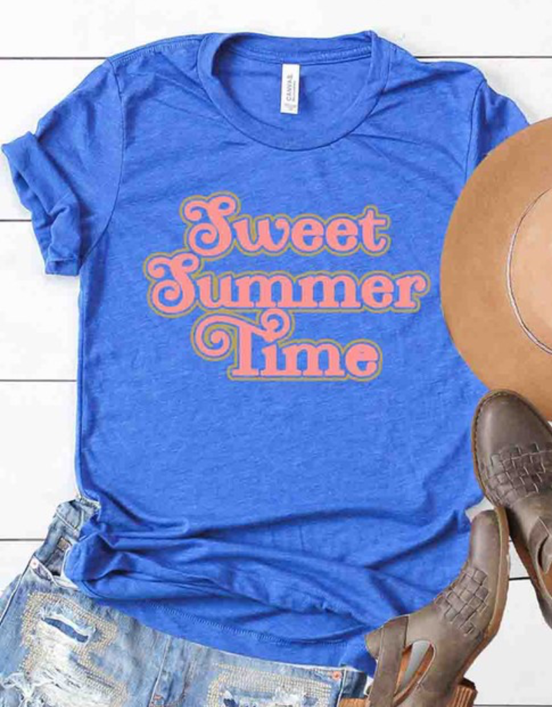 Retro Sweet Summer Time Graphic Tee