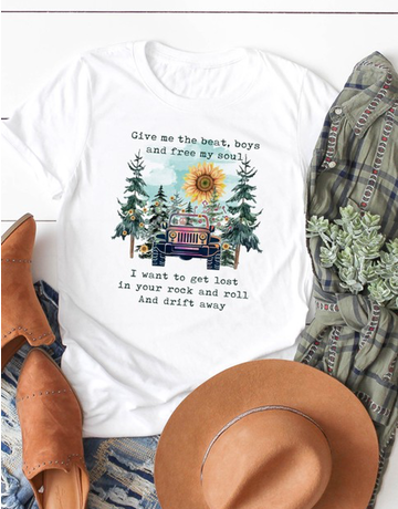 Jeep Girl Graphic Tee
