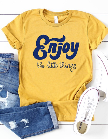 Enjoy The Little Things Graphic Tee