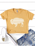 Aztec Buffalo Crop Top