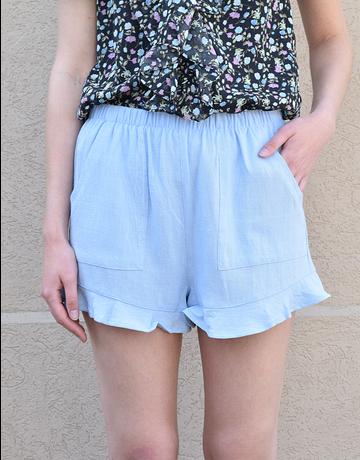 Flutter Ruffle Shorts
