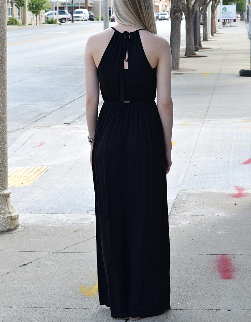 Sleeveless Knit Maxi Dress