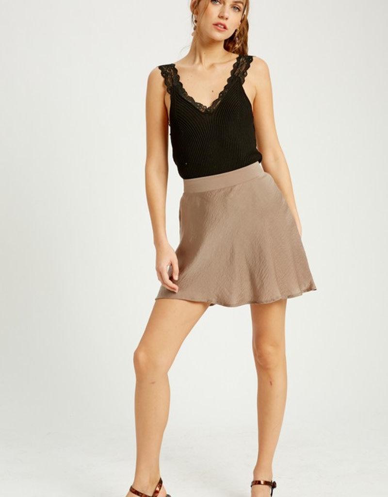 Lace Trim Bodysuit