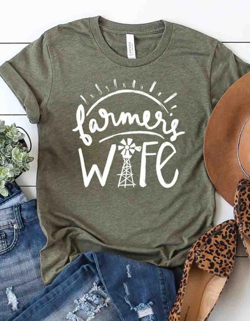 Farmers Wife Graphic Tee