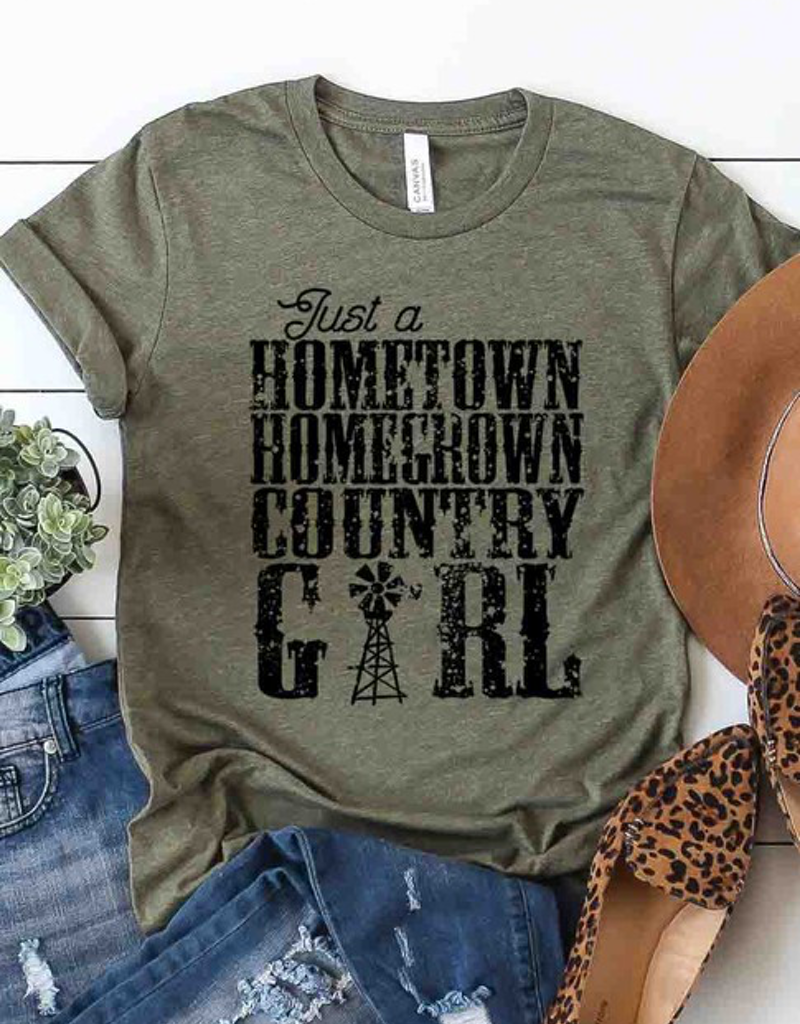 Just A Hometown Girl Graphic Tee