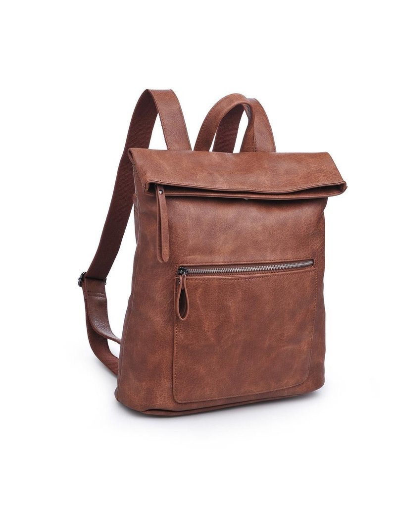 Natural Flat Backpack Lennon - 4 Colors