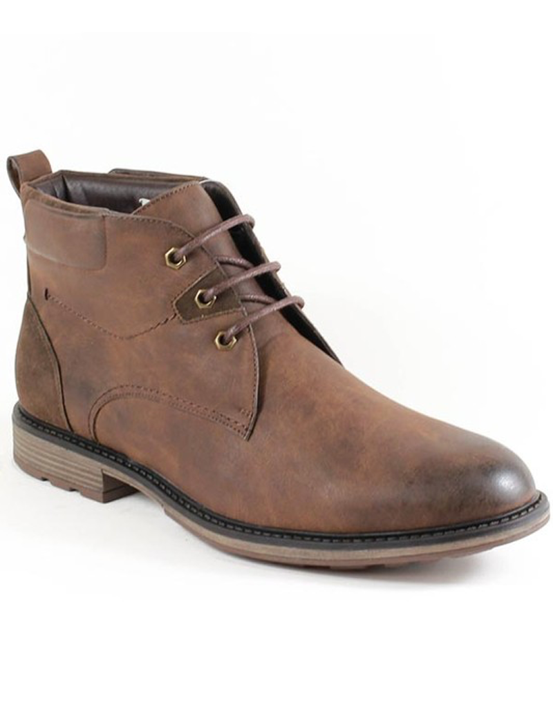 Lace Up Short Boot