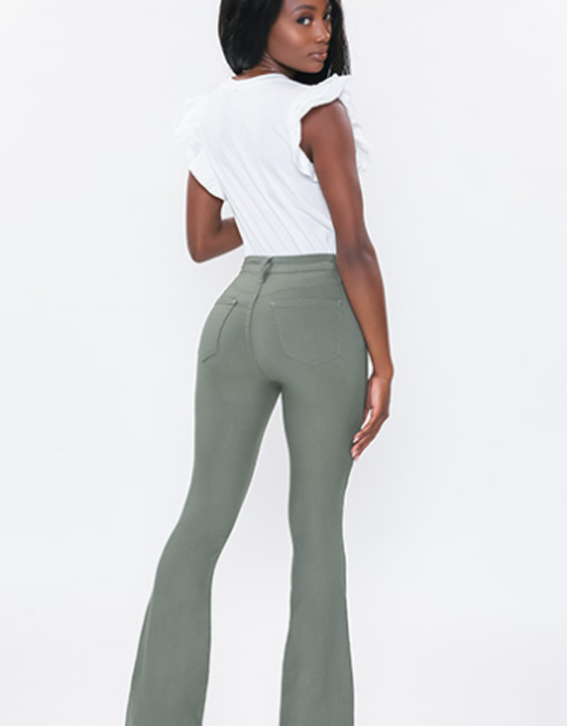 Hyperstretch High Rise Flare