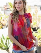 Geo Printed Woven Blouse