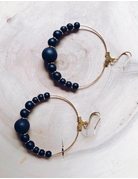 Missy Gemstone Hoop Collection