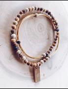 Gold Double Wrap Bracelets