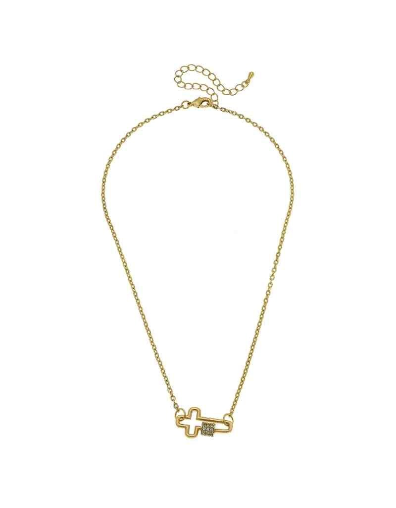 Leela Mini Screw Lock Necklace