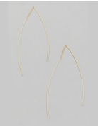 Dainty Chain Bar Dangle Earrings