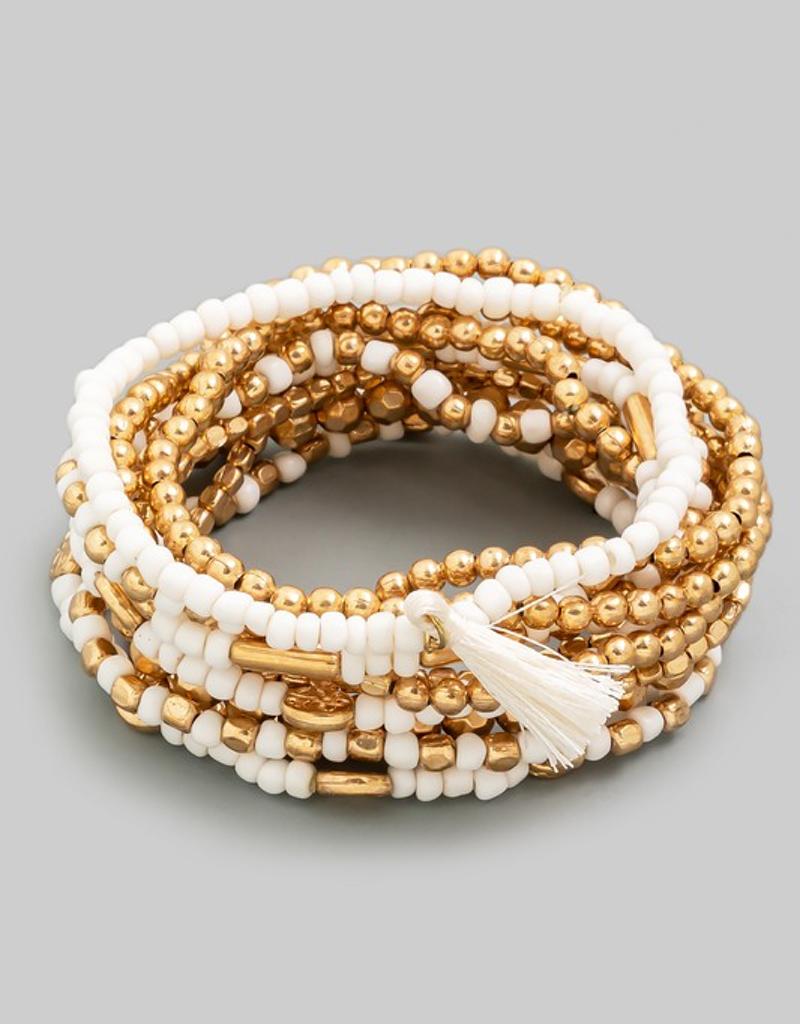 Multi Beaded Bracelet Set