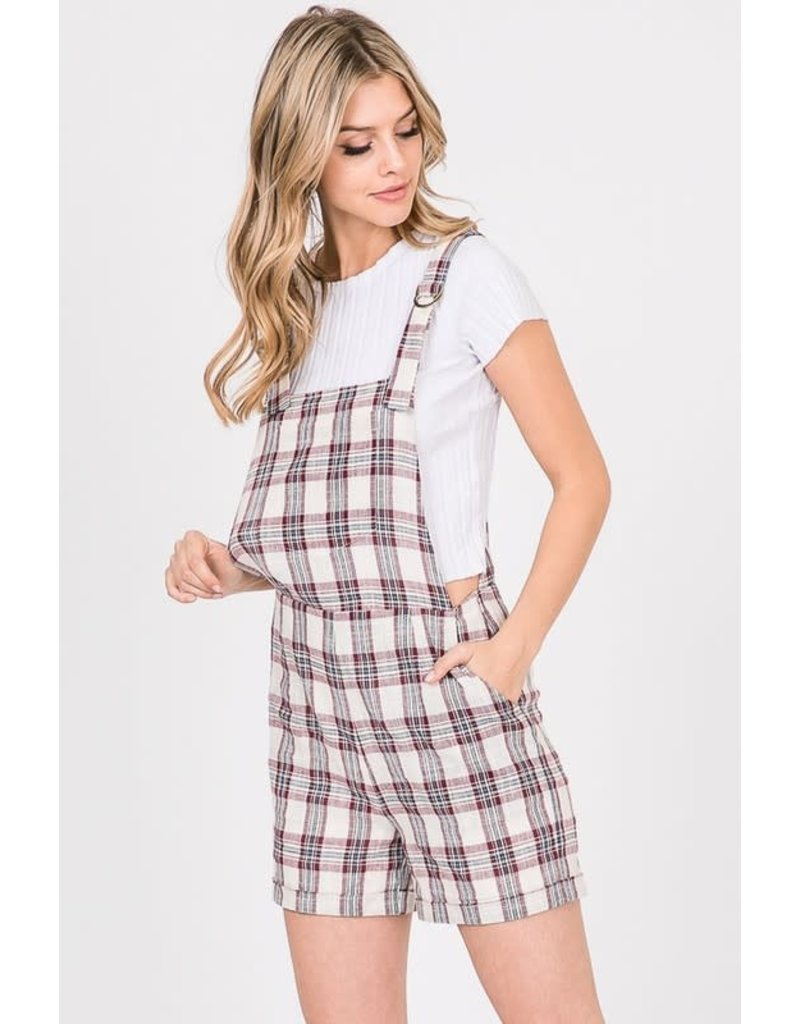 Jumpsuit W/ Check Print