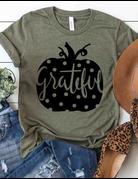 Polka Dot Grateful Graphic Tee