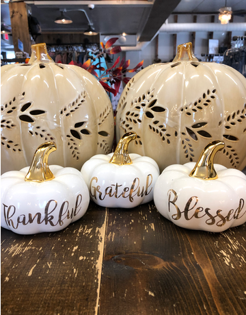 Saying Pumpkins