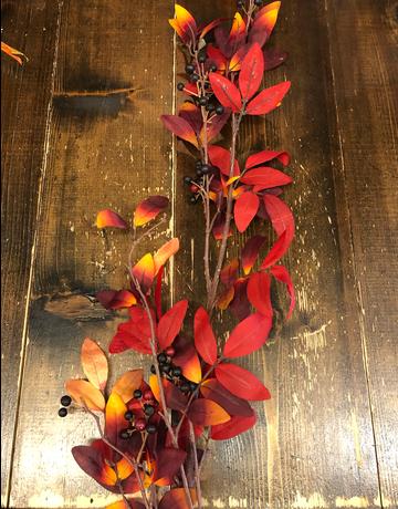 Fall Leaves w/ Berries