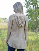 Hooded Solid Light Weight Top