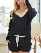 Solid Knit Set Top