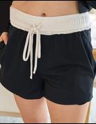 Solid Knit Set Shorts