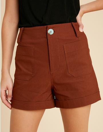 Stretch Woven Shorts