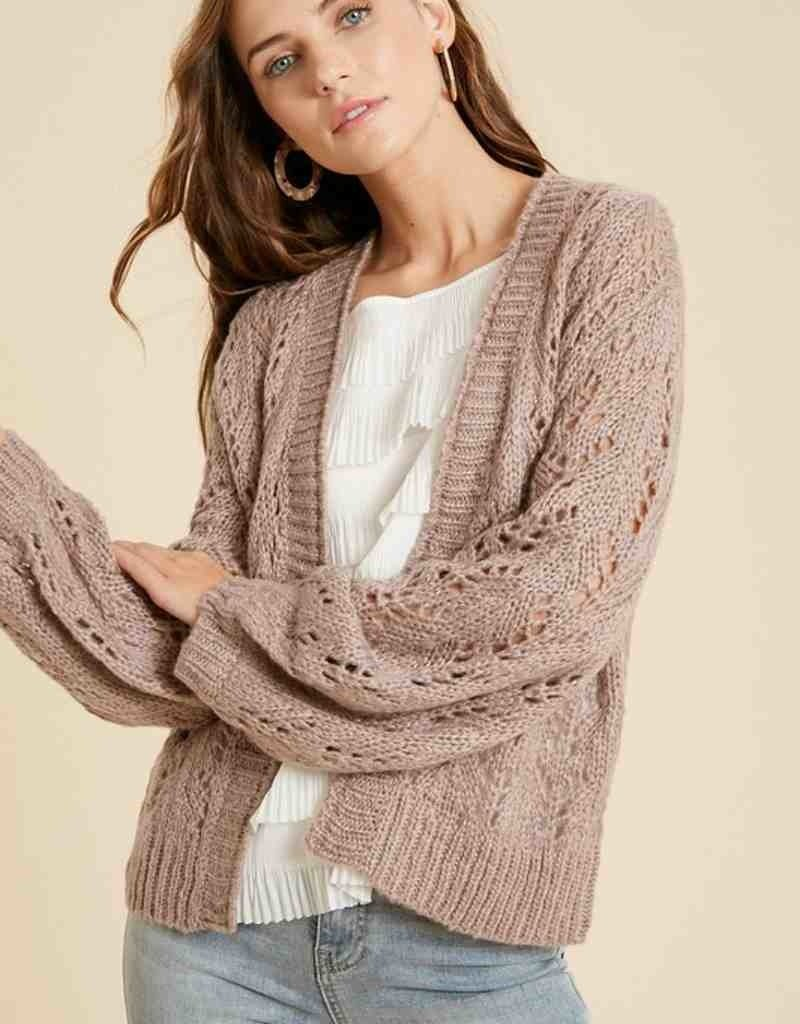 Crochet Sweater Cardigan