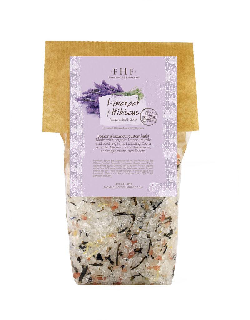 Lavender & Hibiscus Mineral Bath