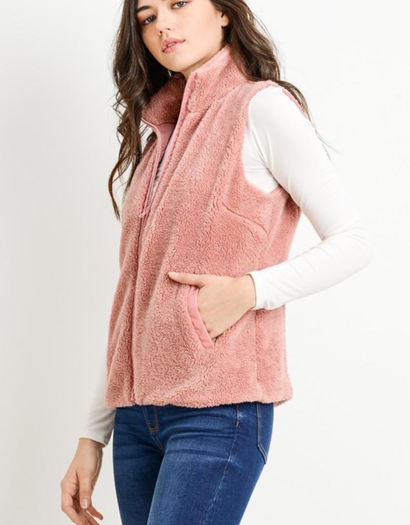 Fleece Zipper Vest