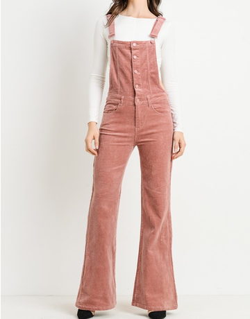 Corduroy Overall Flare