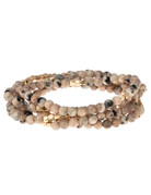 Rhodonite Wrap Bracelet/Necklace