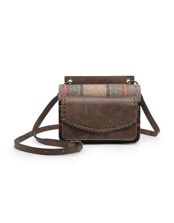 Plaid Evelyn Crossbody/Wallet