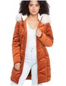 Feeling the Fluff Hooded Coat