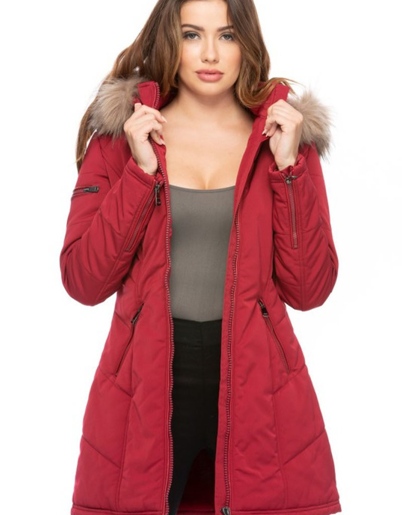 Out of Pocket Hooded Coat