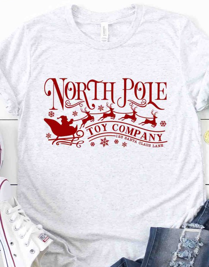 North Pole Toy Co Graphic Tee