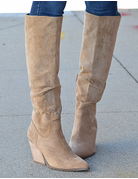 Knee High Western Bootie