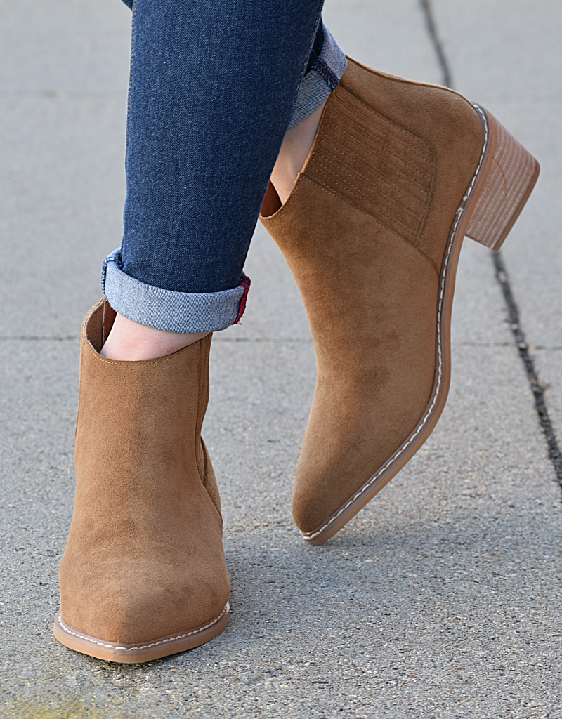 Panelled Chelsea Bootie