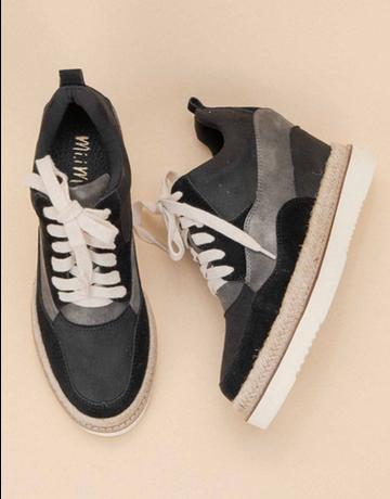 Sporty Wedge Sneaker