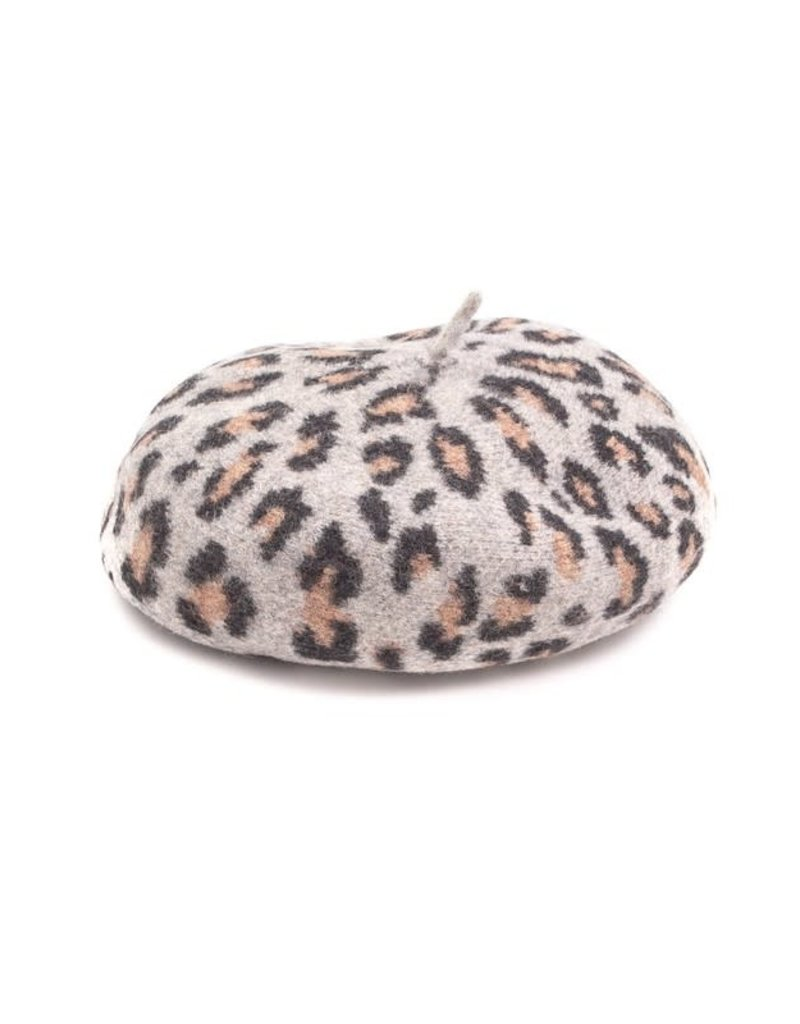 Leopard Design Fashion Beret