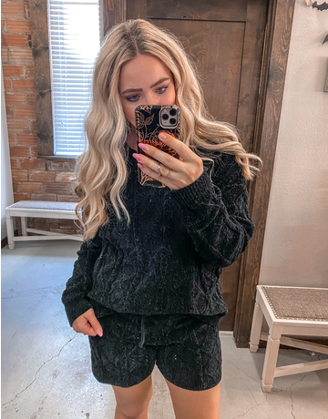 Soft Cozy Sweater Shorts