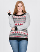 Not Your Ugly Christmas Reindeer Sweater